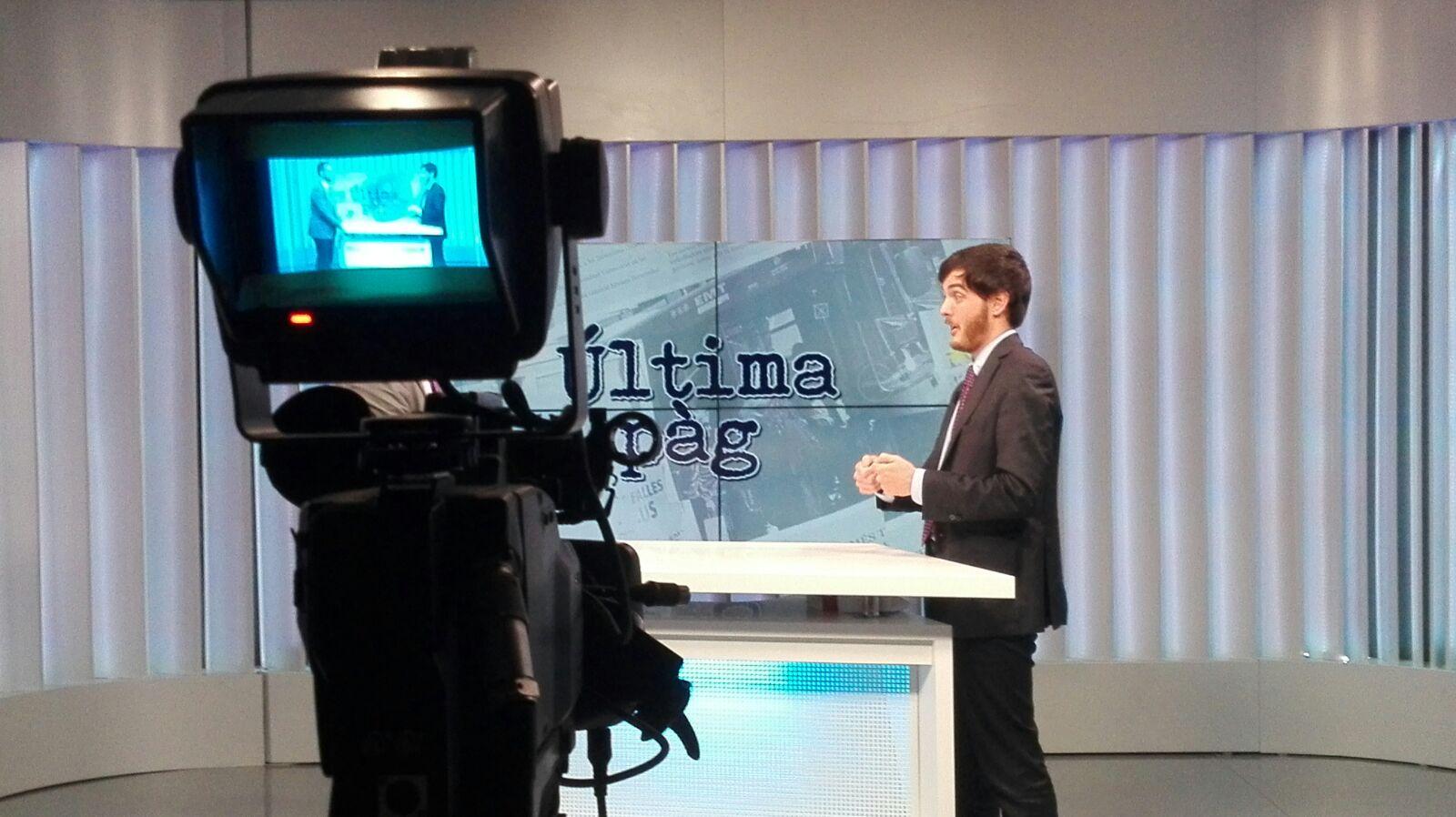 ENTREVISTA A ALBERTO AZNAR EN LEVANTE TV